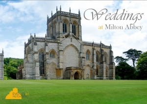 Weddings at Milton Abbey - cover JPEG