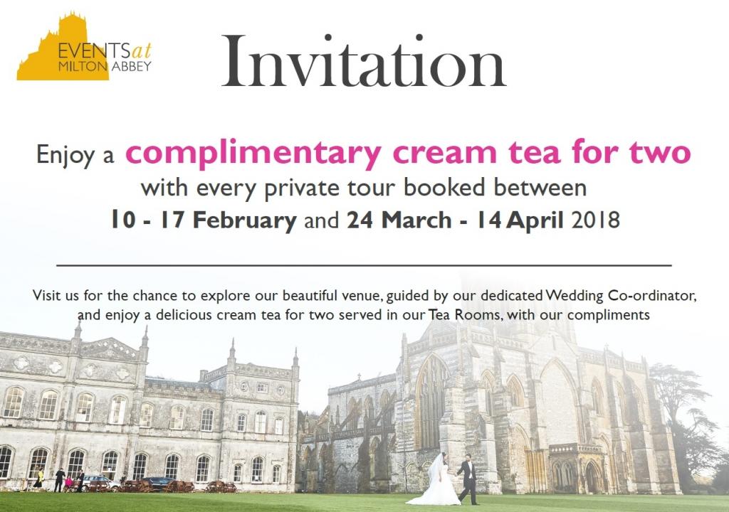 Cream Tea Invitation - February-April 2018 (LR)