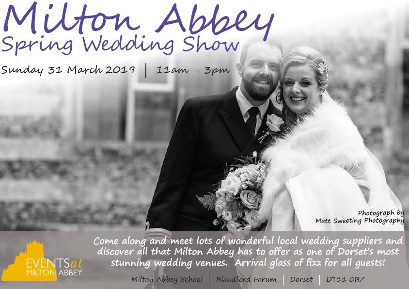 Milton Abbey Spring Wedding Show 2019 flyer1 JPEG